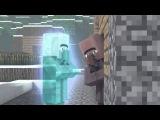 Мультики Minecraft   Новый год с жителями Мульт,Анимация