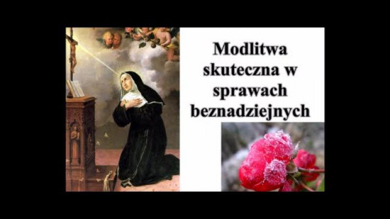 Bardzo skuteczna Modlitwa do Świętej Rity w sprawach beznadziejnych