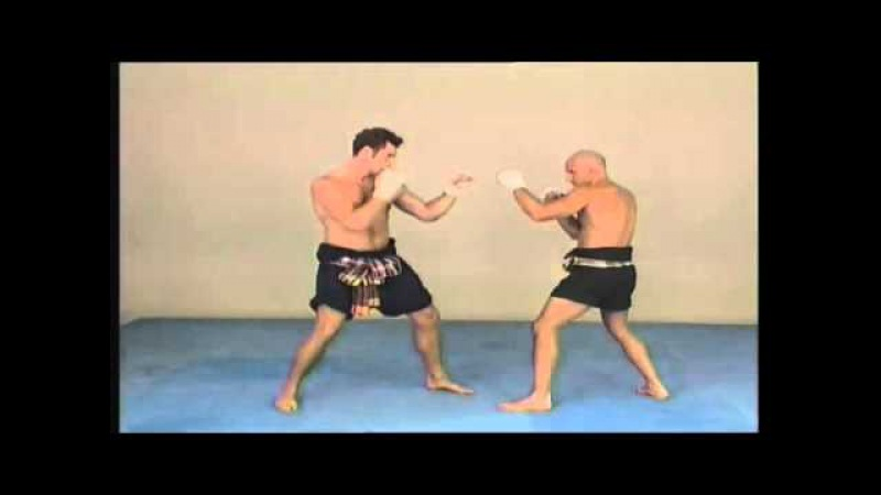 Old Muay Thai. Elbows in Muay Thai Boran.