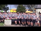 Боевой танец Хака Маори на похоронах учителя в Новой Зеландии