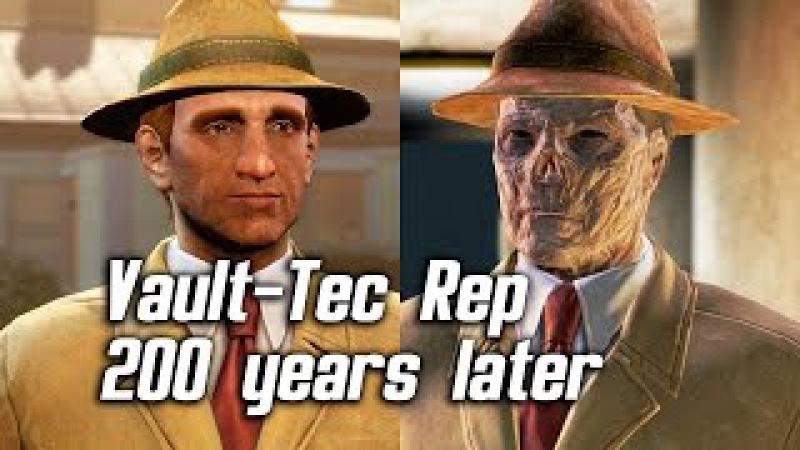 Fallout 4 Meeting Vault Tec Representative 200 Years Later