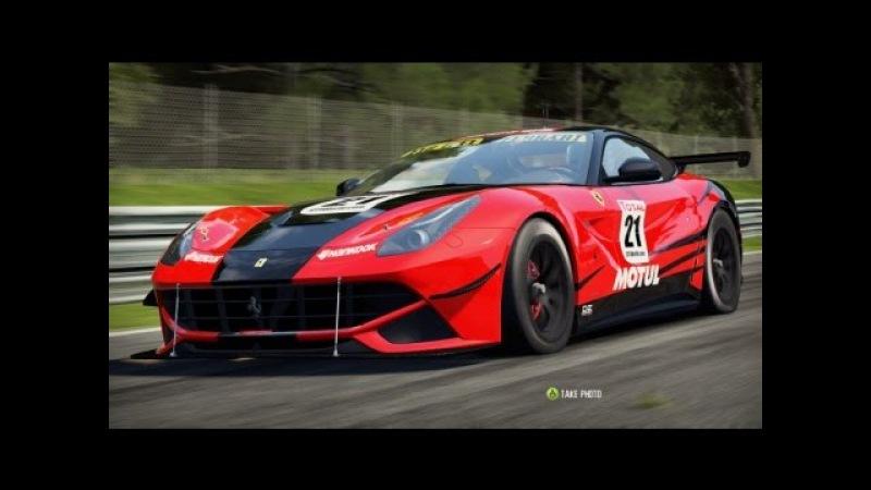NFS Shift 2 Unleashed: Ferrari F12 GT1 on Nordschleife [HD]