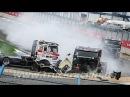 Аварии грузовиков на авто гонках. Гонки на грузовиках Подборка аварий на грузовиках