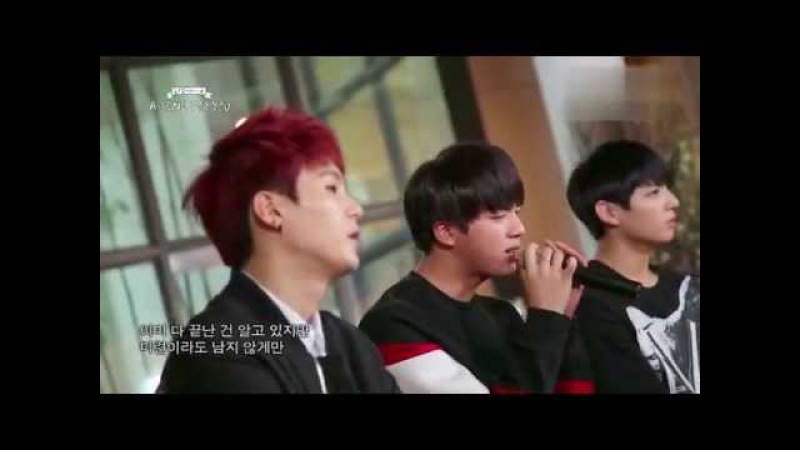 [Full live] 141018 BTS - Let Me Know @ A Song For You