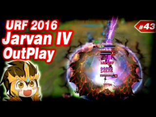 LoL Epic Moments #43 -  Epic Jarvan IV Outplay [URF 2016]   League of Legends