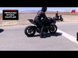 Kawasaki Ninja ZX10R vs H2- top speed