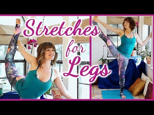 Cheer Dance Stretches Flexibility, Scorpion and Splits, Stretching Exercises Routine Workout