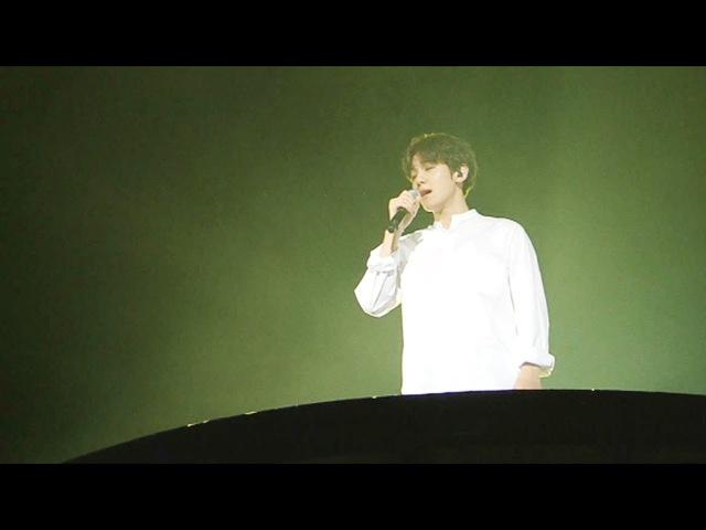 EXO 백현, 폭발적인 가창력! '비처럼 음악처럼' @가요대전 20151227