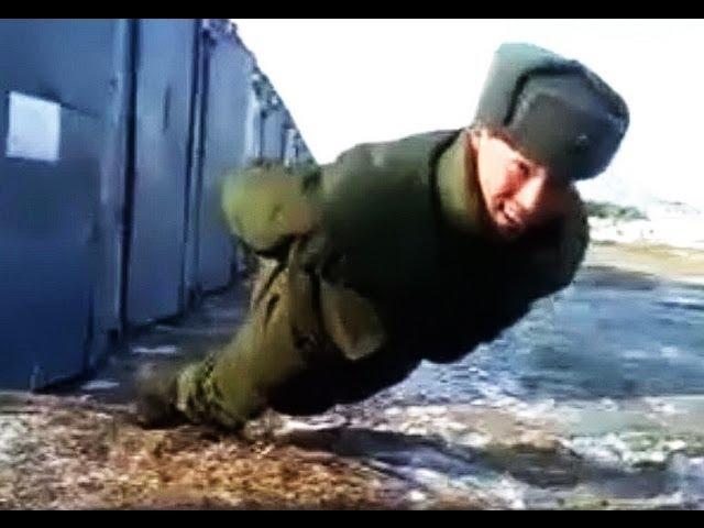 Отжимание без рук -- супер солдаты российской армии