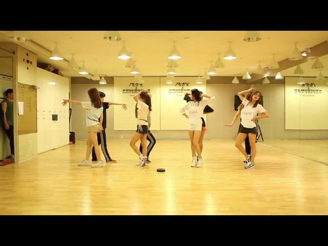 KARA 카라 맘마미아 Mamma Mia Dance Practice Ver Mirrored