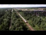 2ТЭ116. Товарный поезд с квадрокоптера