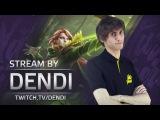 Dota 2 Stream Na`Vi Dendi playing Windranger (Gameplay &amp Commentary)