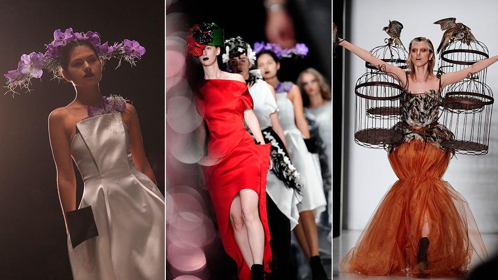 У всех участников должно быть по равному количеству моделей; весь показ – не более 15 минут, и не так, что один – Цирк дю Солей, а другой – просто модели ходят на белом фоне.