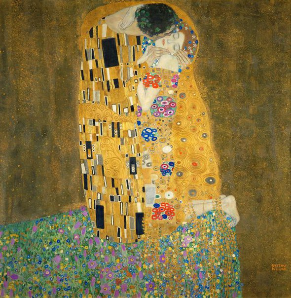 15 малоизвестных фактов о модернистском шедевре Густава Климта «Поцелуй»