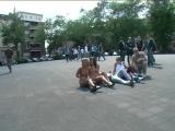 Jennifer S & Eliza Nude in Public 1 & 2