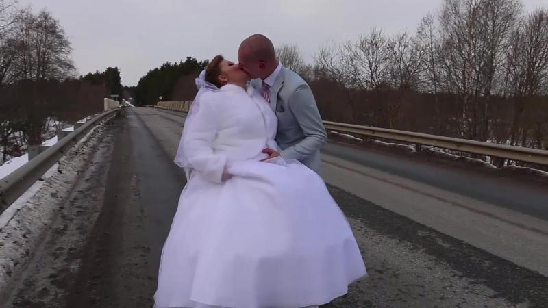 Свадебный ролик (продолжение) 💙💙💙