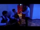 За кулисами в ожидании выхода Pump it(cover) Дархан, Мухамед-али, Надир