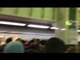 Пассажиры столичной подземки пишут о чудовищном коллапсе в метро
