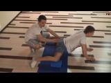 Умное тело - Братья Калуцких Как сесть на шпагат(поперечный)