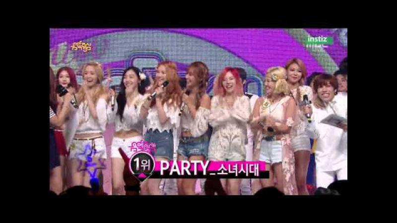 [Live HD 720p] 150718 Girls' Generation(소녀시대) - No.1 @ Music Core