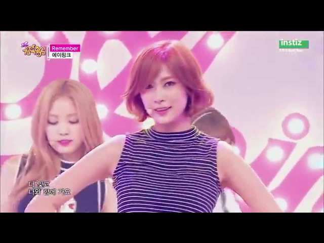 [Live HD 720p] 150718 Apink(에이핑크) - Remember(리멤버) @ Music Core Comeback Stage