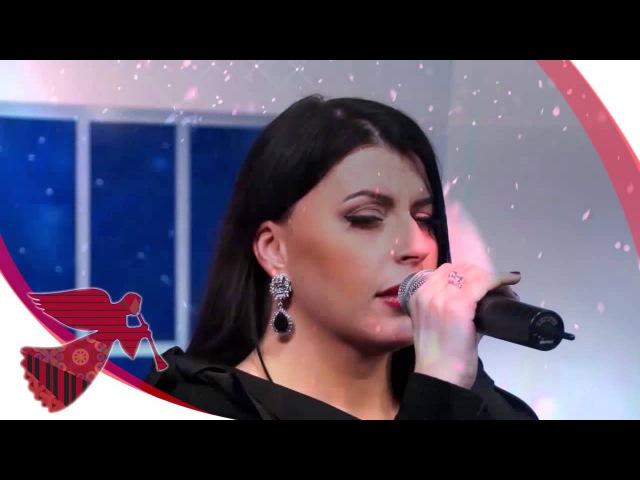 Рождественская песня Ренаты Волкиевич на «ТБН-Россия»