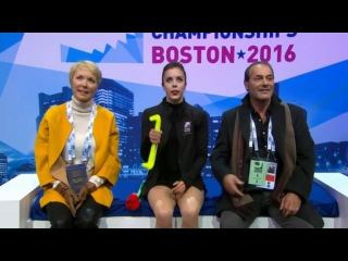 [NoCommentary] Ashley WAGNER - SP / 2016 World Championships