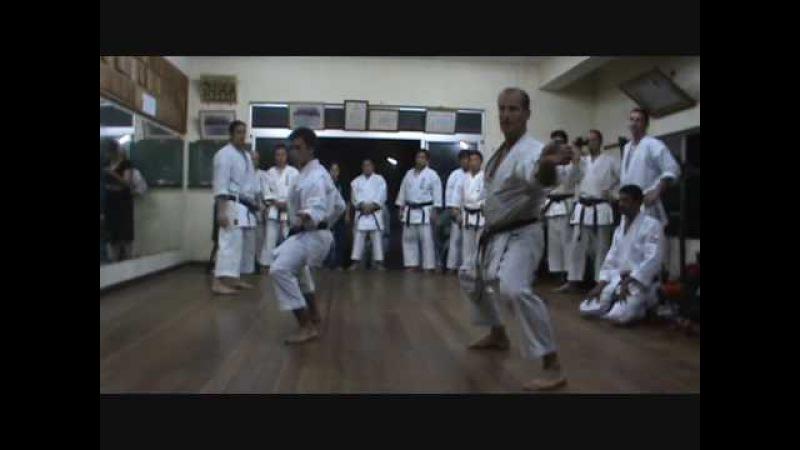 KATA JION - Ivan Gazzoti, Kyudokan Argentina - Romain Lafitte, Shotokan Francia