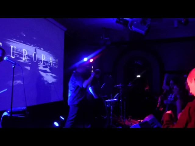2015-10-23 Sturm Cafe - Europa Live Bodyfest Stockholm Nalen