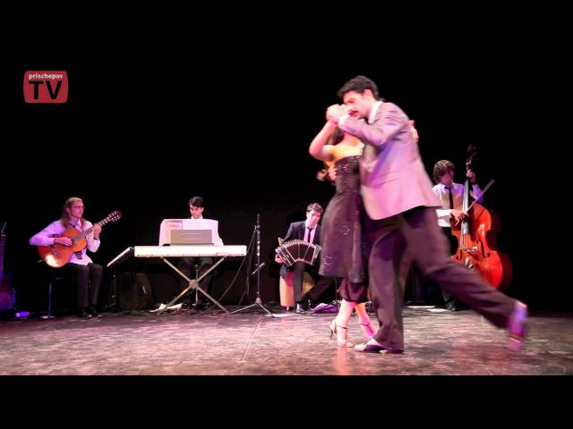 Dana Frigoli Adrian Ferreyra at the opening of White tango festival 2011 in Moscow (Russia)3.