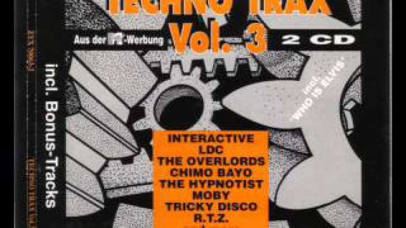 TECHNO TRAX VOL. 3 (III) Full Album 114:34 Min (HD HQ High Quality Trance Hardcore Rave House 1991)