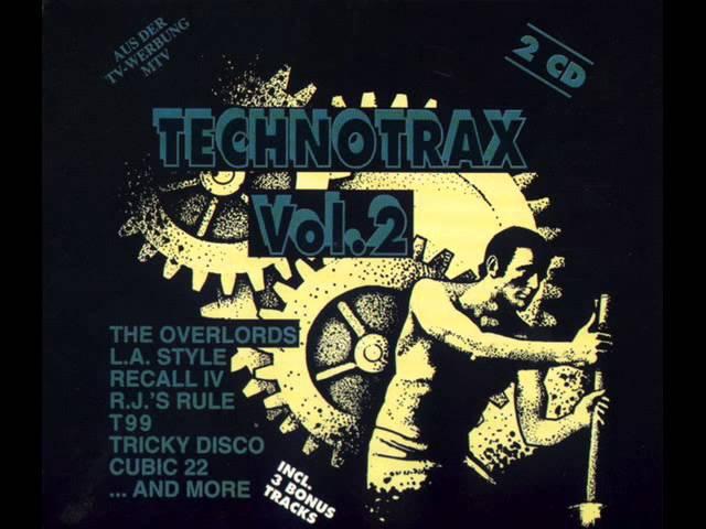 TECHNO TRAX VOL 2 (II) - FULL ALBUM 119:46 Min (HD HQ High Quality Techno House Trance Rave 1991)