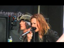 Device performing Close My Eyes Forever feat Lzzy Hale LIVE at Carolina Rebellion 2013