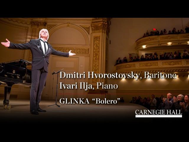 """Dmitri Hvorostovsky Sings Glinka's """"Bolero"""""""
