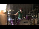 Lindsey Ray Ward - Blink-182 - Kaleidoscope (Drum Cover)