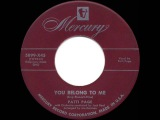 1952 HITS ARCHIVE You Belong To Me - Patti Page