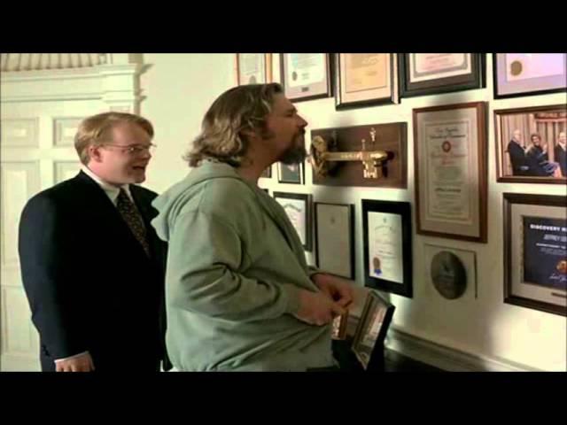 The Big Lebowski's butler (Philip Seymour Hoffman)