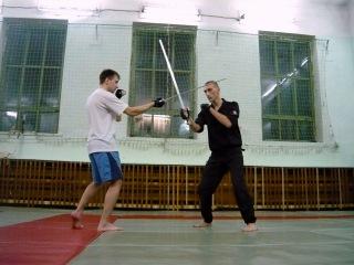 Семинар Фехтование одноручным мечом. Базовая система защит, 09.11.2010