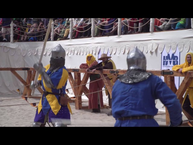Battle of the Nations 2016, Day4, Polearm Duel Playoffs