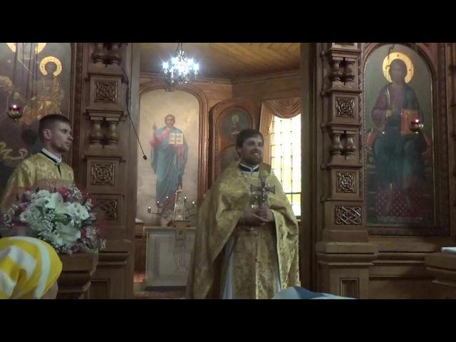 Приветственное слово и проповедь иерея Сергия Чекоданова в праздник памяти святой равноап. Ольги