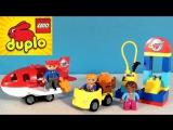 Развивающий мультик Lego собираем аэропорт - Lego Duplo