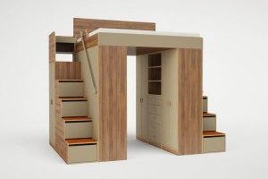 Лофт-кровать Urbano Collection для дома и офисаUrbano Collection сов
