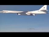 """Ту-160 """"Белый лебедь"""" наносит удар по ИГИЛ в Сирии"""