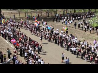 Флэшмоб 71 школа. Оренбург
