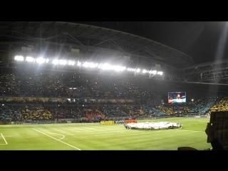 На матче Астана - Галатасарай (30.09.15)