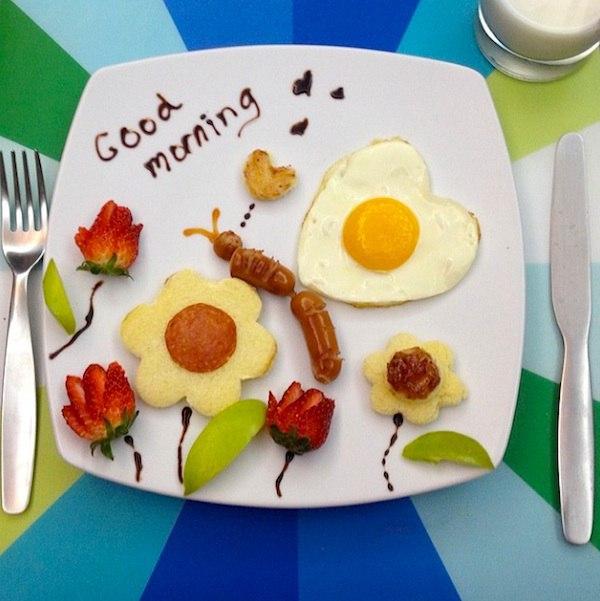Днем, с добрым утром картинки прикольные смешные с надписями мужчине с яичницей