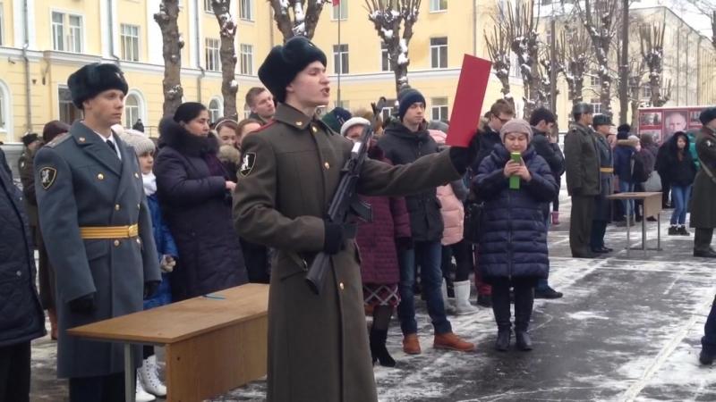 Присяга ВВ МВД России ОДОН