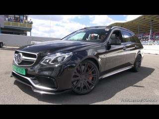 850HP BRABUS Mercedes-Benz E63 AMG 6.0 V8 Biturbo Estate - SOUND! Брабус, машина, тачка, суперкар, спорткар, Мерседес-Бенц, звук