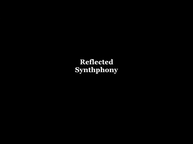Tzytz - Reflected Synthphony