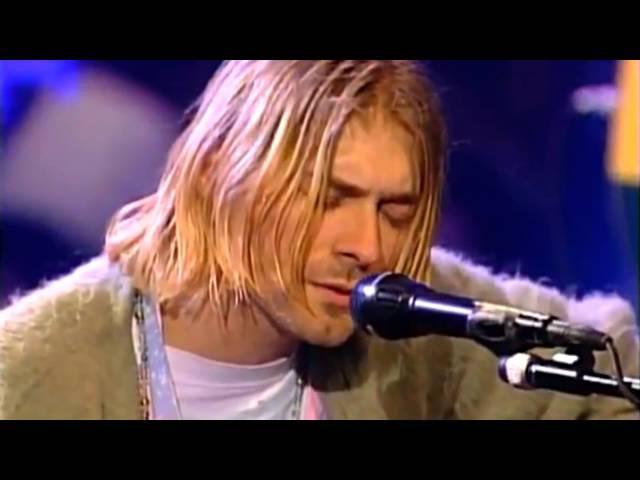 Nirvana Where Did You Sleep Last Night HD Unplugged in New York